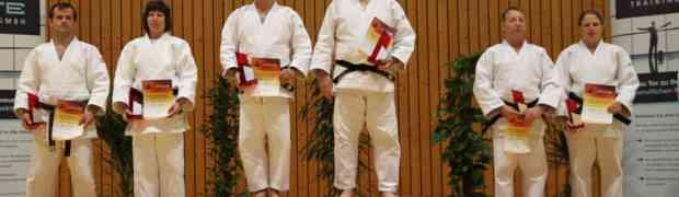 1. Platz bei den Internationalen Deutschen Kata Meisterschaften