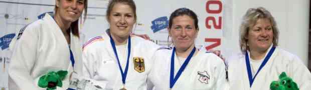 Judo-Europameisterin der Polizei: Barbara Bandel